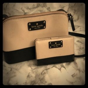 Kate Spade small purse with matching wallet